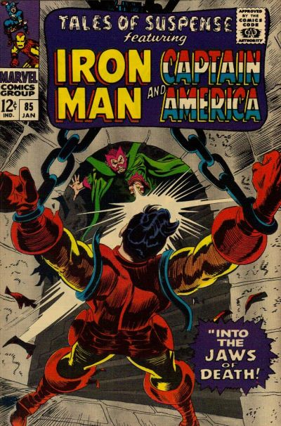 Cover for Tales of Suspense (Marvel, 1959 series) #85