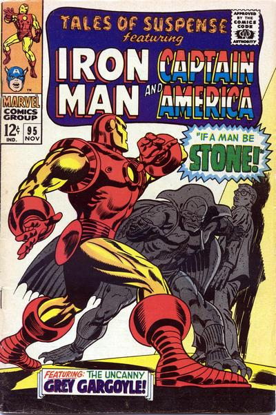 Cover for Tales of Suspense (Marvel, 1959 series) #95