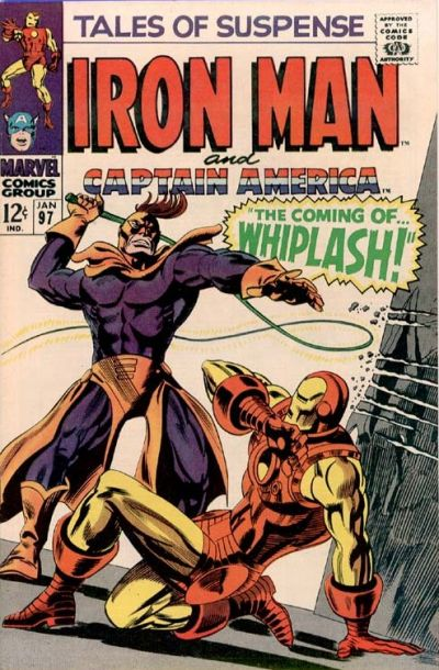 Cover for Tales of Suspense (Marvel, 1959 series) #97
