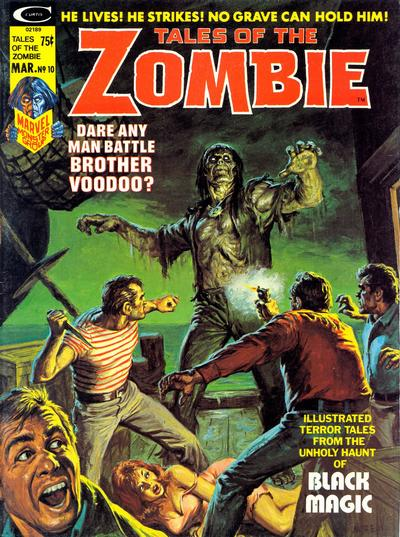 Cover for Zombie (Marvel, 1973 series) #10
