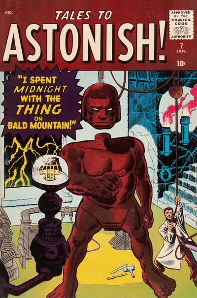Cover for Tales to Astonish (Marvel, 1959 series) #7