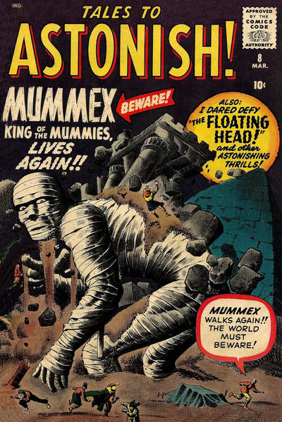Cover for Tales to Astonish (Marvel, 1959 series) #8