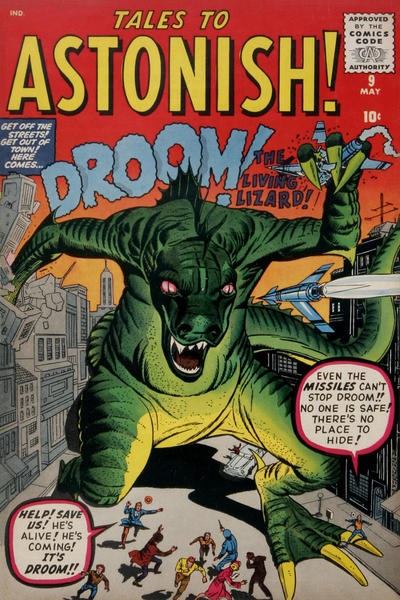 Cover for Tales to Astonish (Marvel, 1959 series) #9