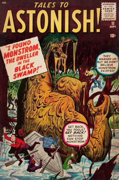 Cover for Tales to Astonish (Marvel, 1959 series) #11