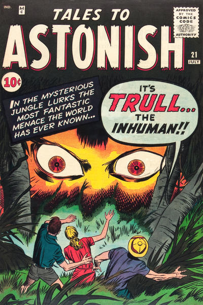 Cover for Tales to Astonish (Marvel, 1959 series) #21