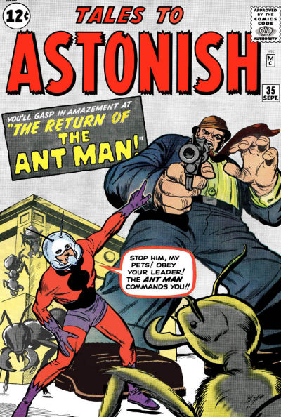 Cover for Tales to Astonish (Marvel, 1959 series) #35