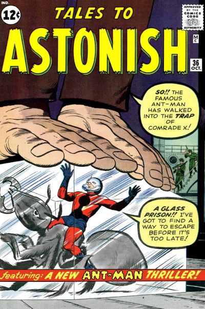 Cover for Tales to Astonish (Marvel, 1959 series) #36