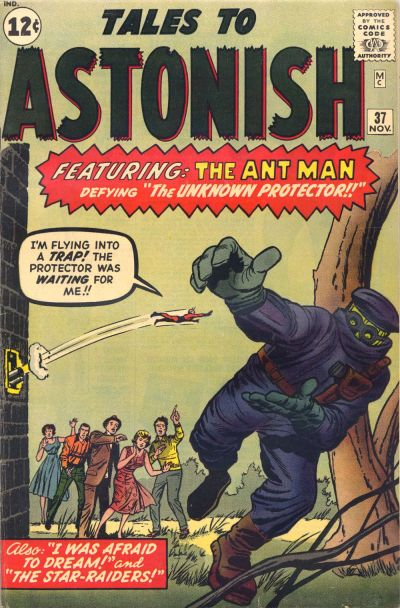 Cover for Tales to Astonish (Marvel, 1959 series) #37