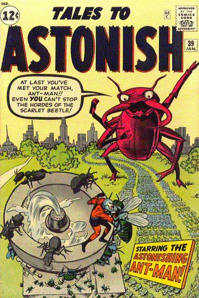 Cover for Tales to Astonish (Marvel, 1959 series) #39