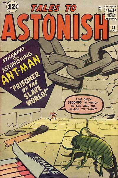 Cover for Tales to Astonish (Marvel, 1959 series) #41