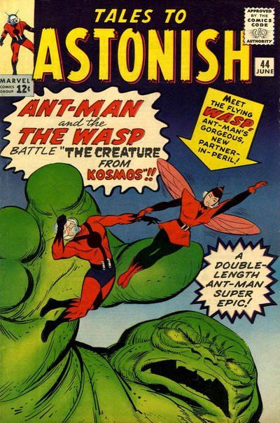 Cover for Tales to Astonish (Marvel, 1959 series) #44