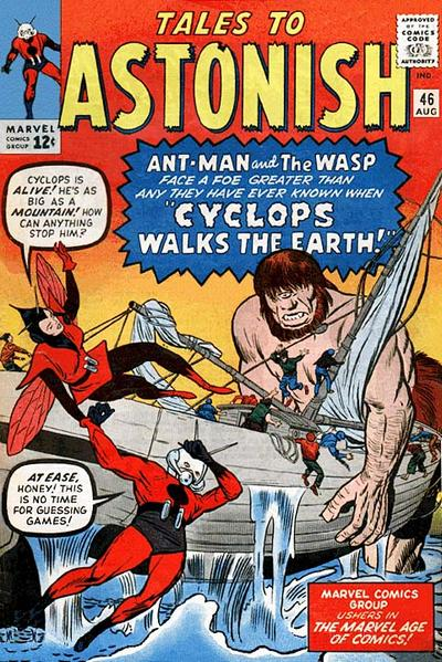 Cover for Tales to Astonish (Marvel, 1959 series) #46