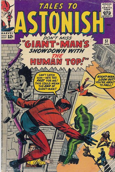 Cover for Tales to Astonish (Marvel, 1959 series) #51