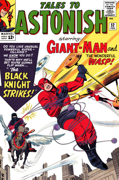 Cover for Tales to Astonish (Marvel, 1959 series) #52