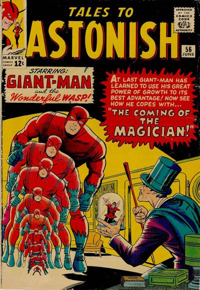Cover for Tales to Astonish (Marvel, 1959 series) #56 [Regular Edition]
