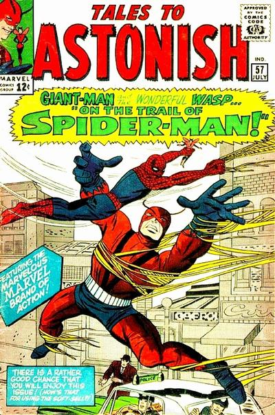 Cover for Tales to Astonish (Marvel, 1959 series) #57