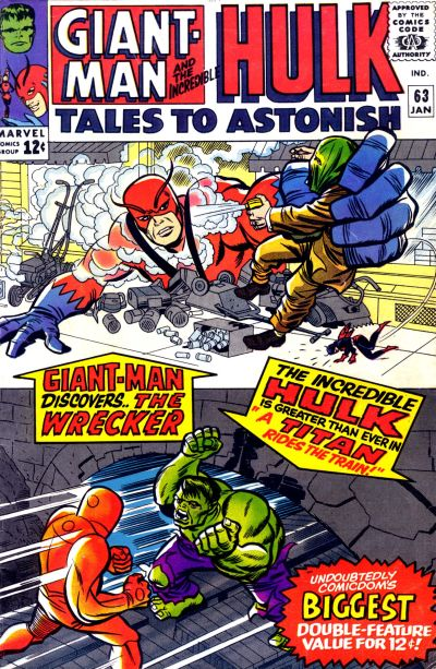 Cover for Tales to Astonish (Marvel, 1959 series) #63