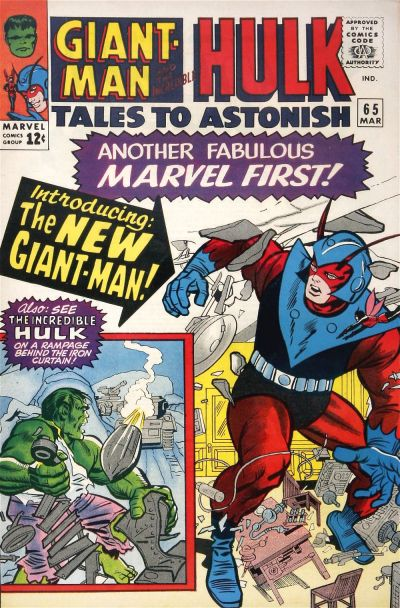 Cover for Tales to Astonish (Marvel, 1959 series) #65