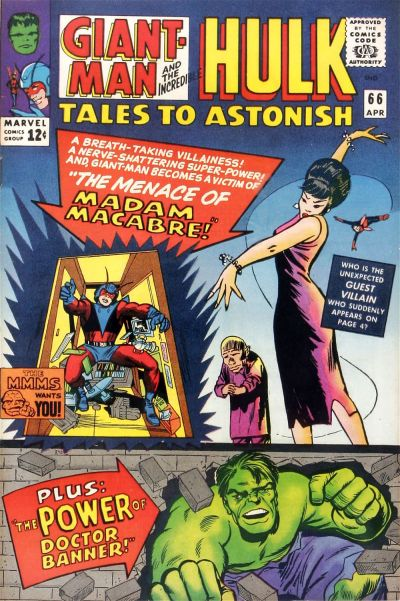Cover for Tales to Astonish (Marvel, 1959 series) #66