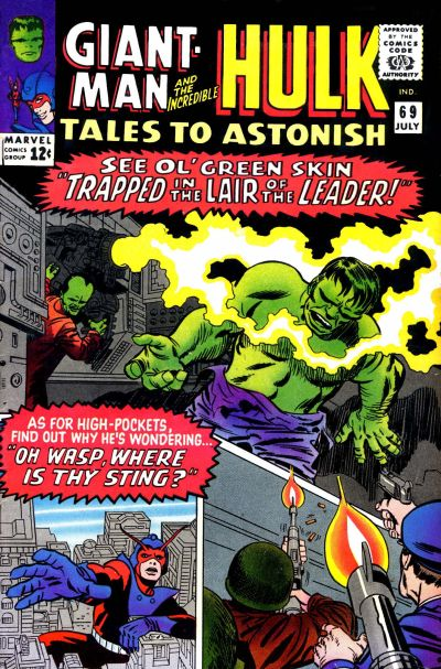 Cover for Tales to Astonish (Marvel, 1959 series) #69