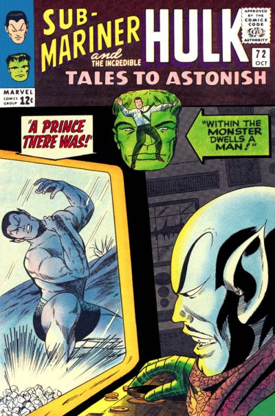 Cover for Tales to Astonish (Marvel, 1959 series) #72