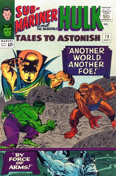 Cover for Tales to Astonish (Marvel, 1959 series) #73 [Regular Edition]