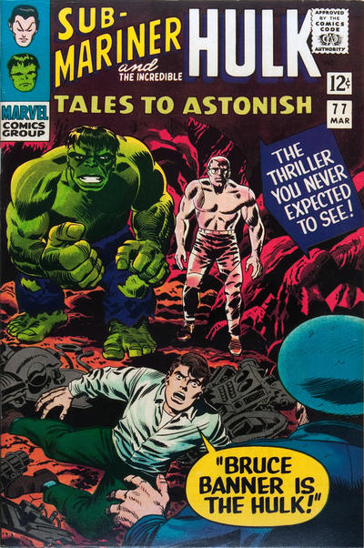Cover for Tales to Astonish (Marvel, 1959 series) #77