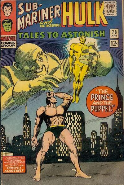 Cover for Tales to Astonish (Marvel, 1959 series) #78 [Regular Edition]