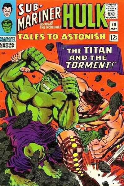 Cover for Tales to Astonish (Marvel, 1959 series) #79 [Regular Edition]