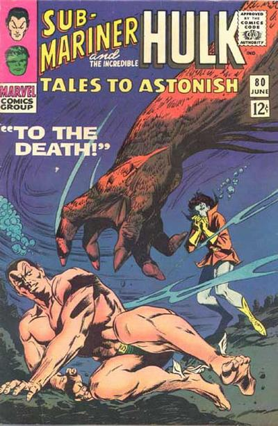 Cover for Tales to Astonish (Marvel, 1959 series) #80