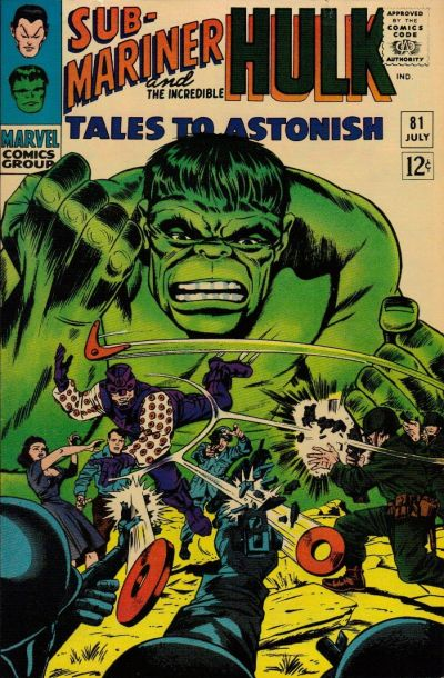 Cover for Tales to Astonish (Marvel, 1959 series) #81