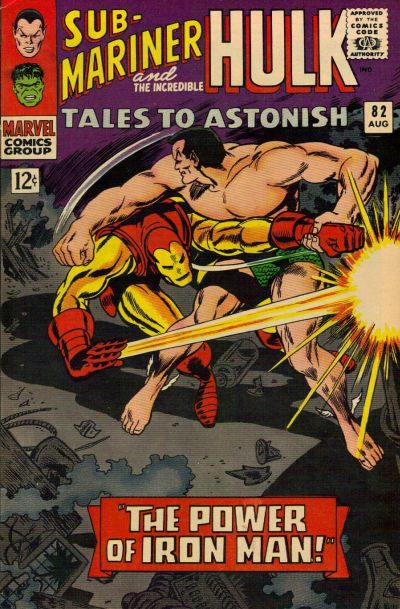 Cover for Tales to Astonish (Marvel, 1959 series) #82