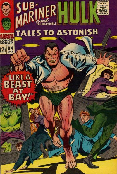 Cover for Tales to Astonish (Marvel, 1959 series) #84