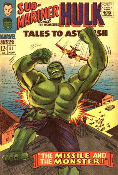Cover for Tales to Astonish (Marvel, 1959 series) #85