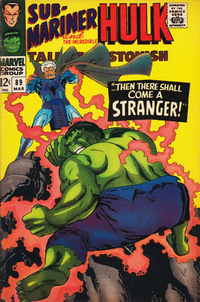 Cover for Tales to Astonish (Marvel, 1959 series) #89