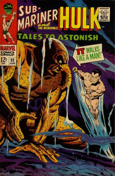 Cover for Tales to Astonish (Marvel, 1959 series) #92