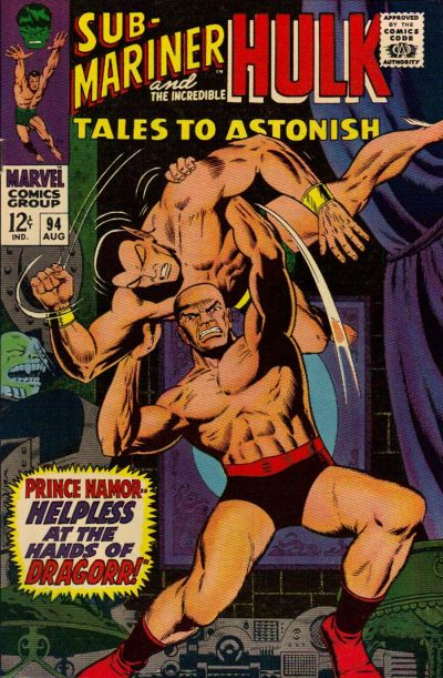 Cover for Tales to Astonish (Marvel, 1959 series) #94