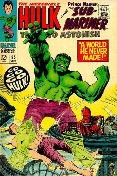 Cover for Tales to Astonish (Marvel, 1959 series) #95