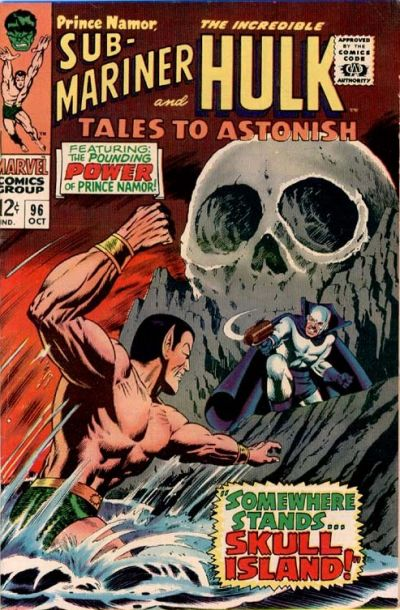 Cover for Tales to Astonish (Marvel, 1959 series) #96