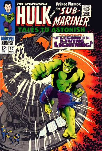 Cover for Tales to Astonish (Marvel, 1959 series) #97