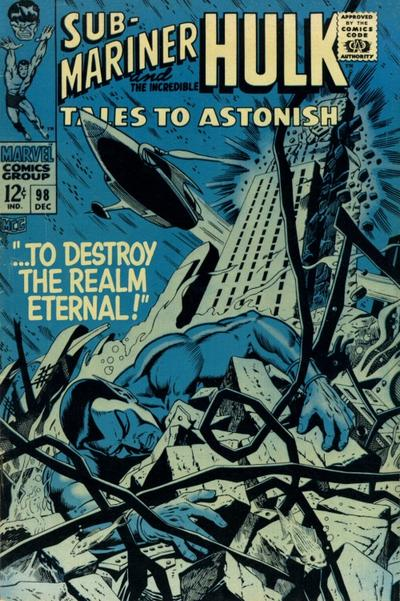 Cover for Tales to Astonish (Marvel, 1959 series) #98