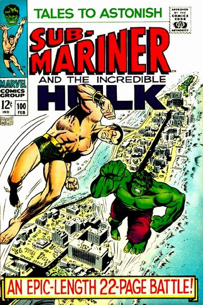 Cover for Tales to Astonish (Marvel, 1959 series) #100