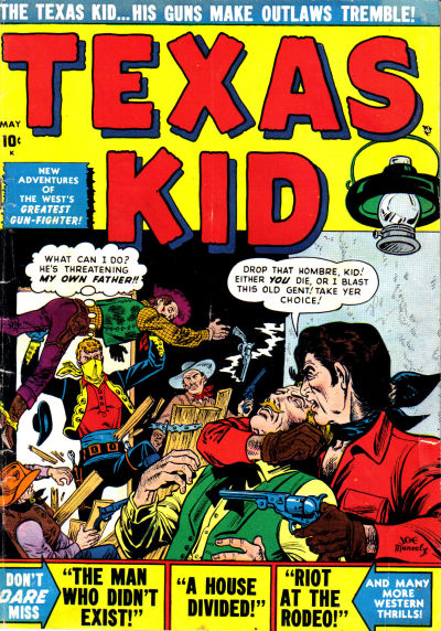 Cover for Texas Kid (Marvel, 1951 series) #3
