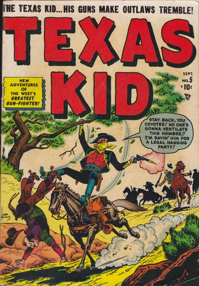 Cover for Texas Kid (Marvel, 1951 series) #5