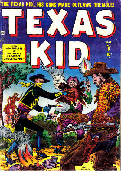 Cover for Texas Kid (Marvel, 1951 series) #8