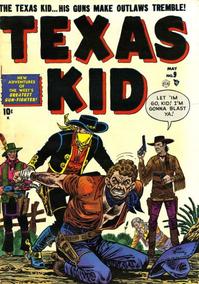 Cover for Texas Kid (Marvel, 1951 series) #9