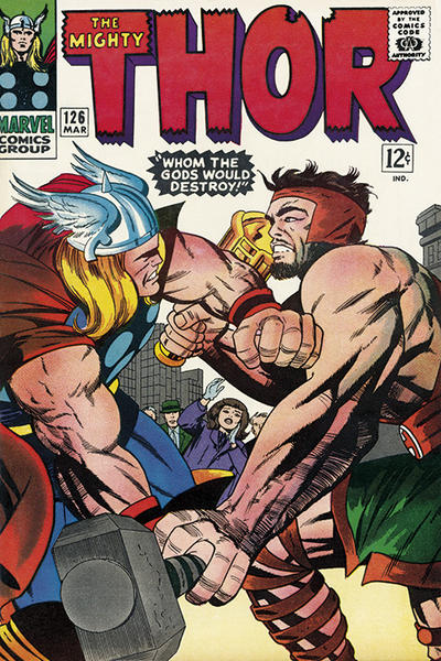 Cover for Thor (Marvel, 1966 series) #126
