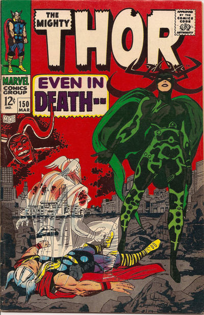 Cover for Thor (Marvel, 1966 series) #150
