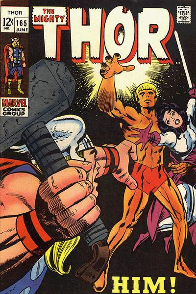 Cover for Thor (Marvel, 1966 series) #165 [Regular Edition]