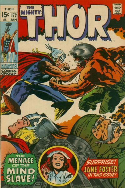 Cover for Thor (Marvel, 1966 series) #172